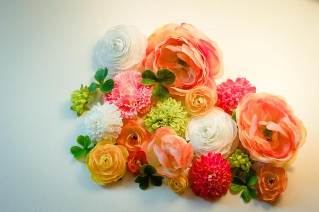 floral Silk flowers