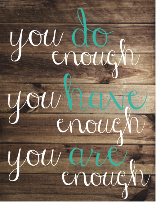 You are enough quotes