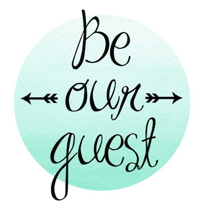 photo about Be Our Guest Printable identify Be our visitor printable