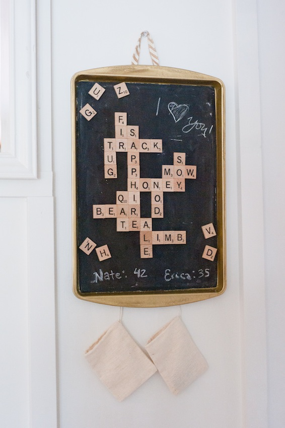 magnetic scrabble board