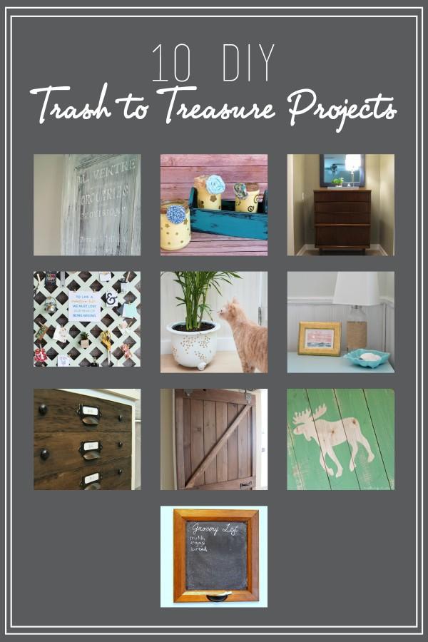 May DIY Challenge: Trash to Treasure