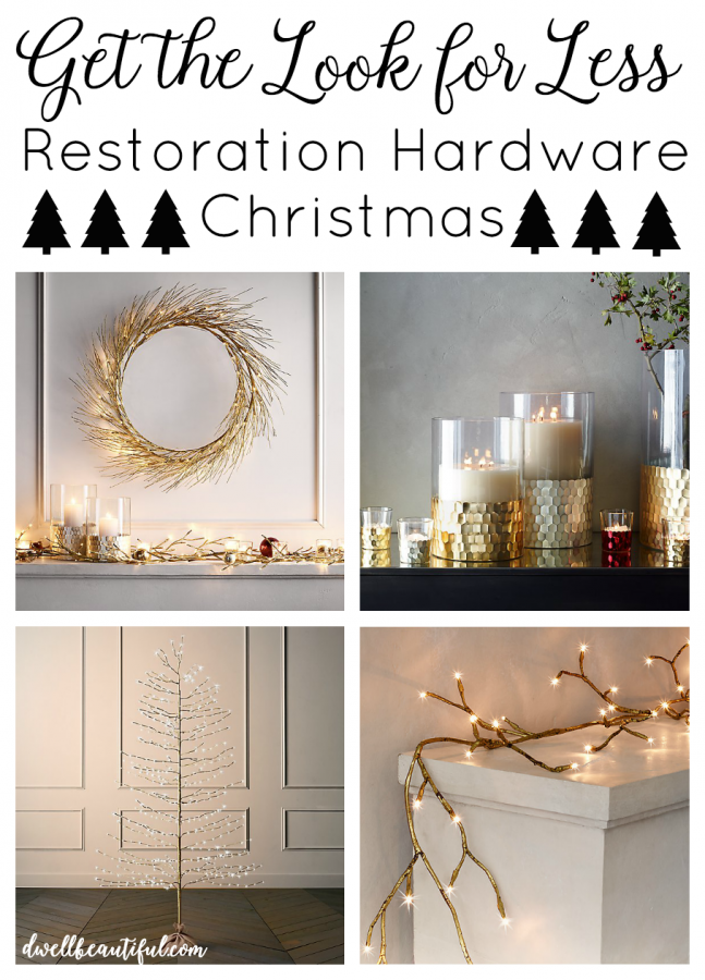 Get The Look And Feel Of Natural Wood For Your Front Door: Get The Look For Less: Restoration Hardware Holiday