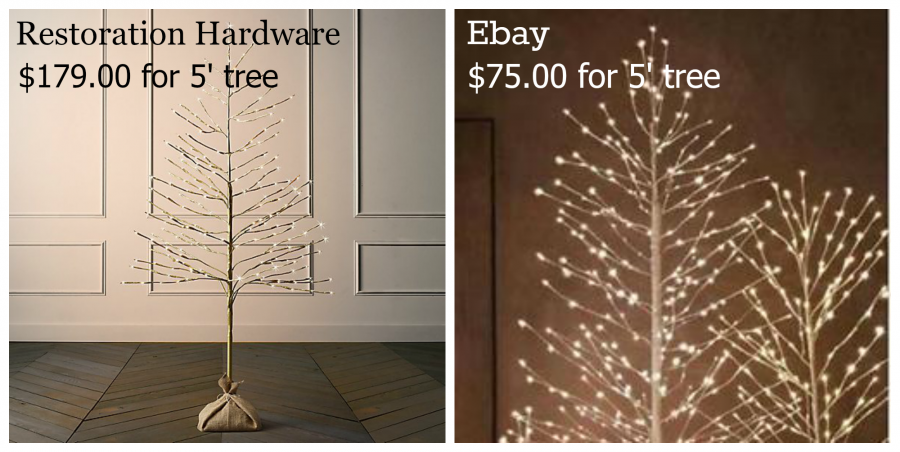 Christmas Tree Price Tags