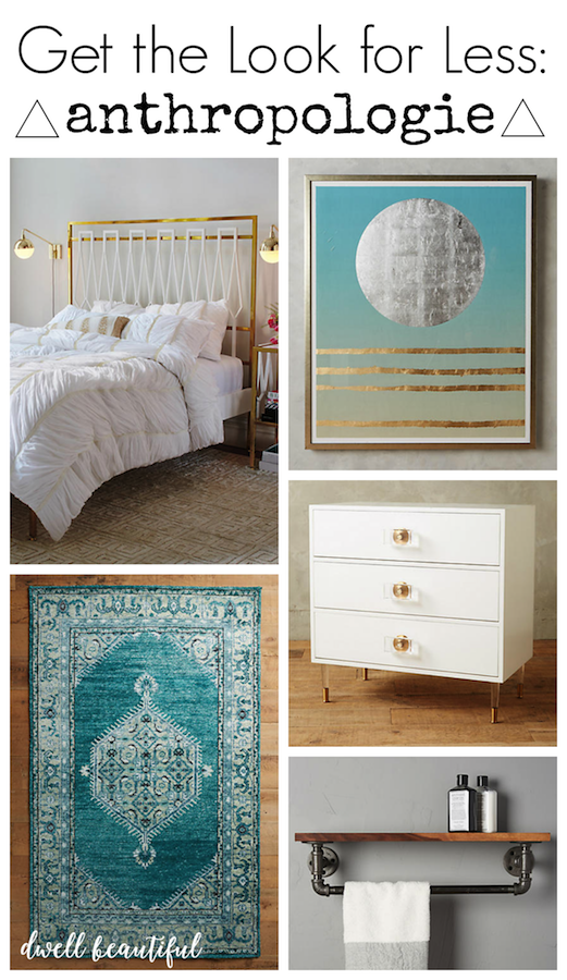 get the look for less anthropologie bedroom dwell beautiful anthropologie style furniture