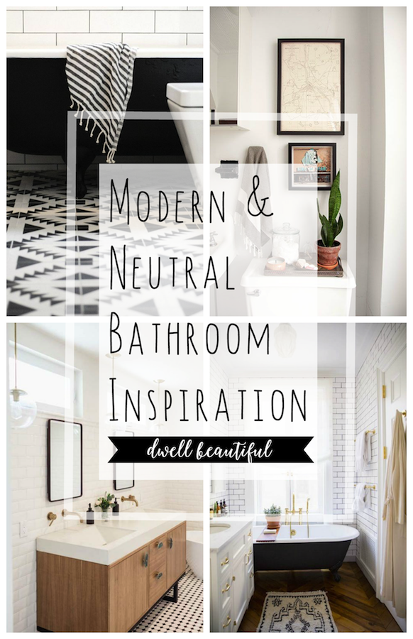 Modern Neutral Master Bathroom 2: Neutral Master Bathroom Inspiration
