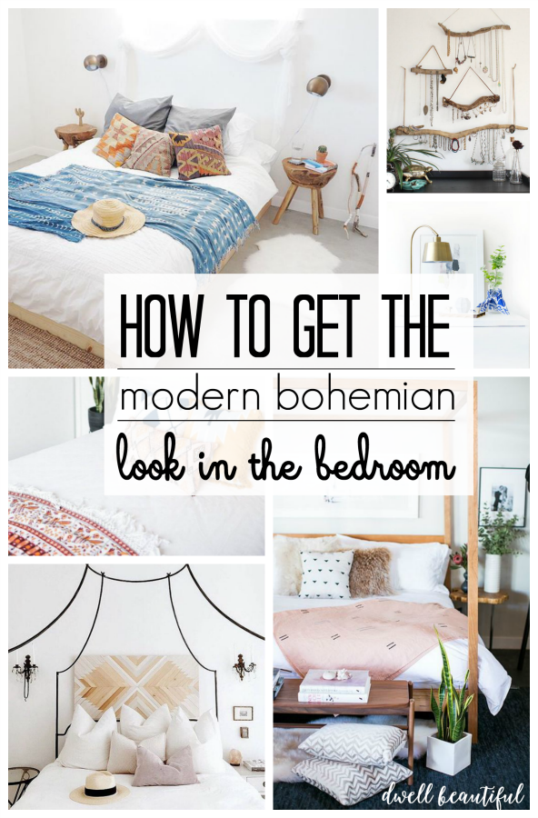Modern bohemian bedroom inspiration dwell beautiful - How to decorate a modern bedroom ...