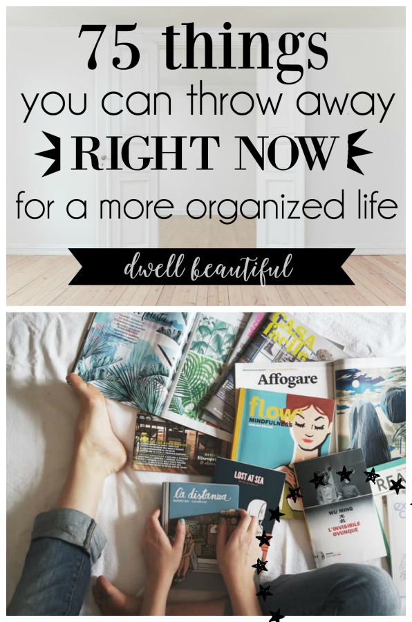 how to become more organized in life