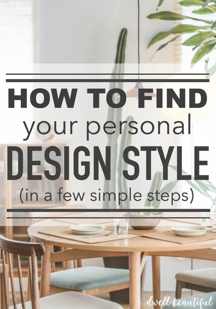 how to find your unique personal interior design style