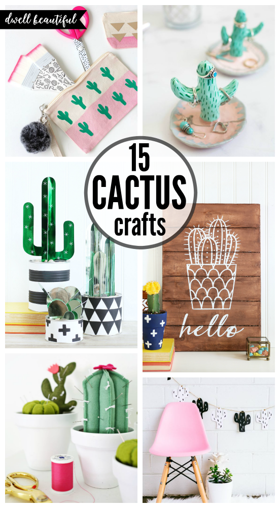 Easy diy cactus crafts to make sell and share dwell for Kitchen crafts to make