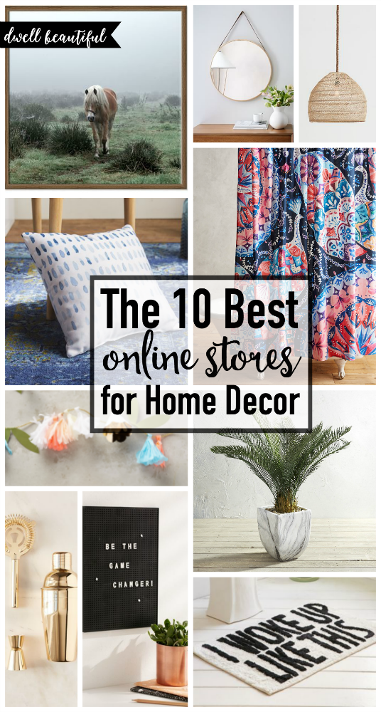 The 10 best places to shop for home decor online dwell for Store for home decor