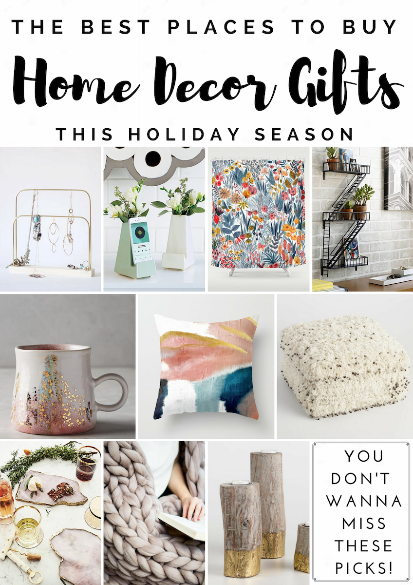 Home Decor Gift Guide Best Places To For Gifts And A Giveaway
